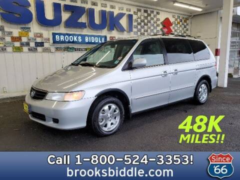 2002 Honda Odyssey for sale at BROOKS BIDDLE AUTOMOTIVE in Bothell WA