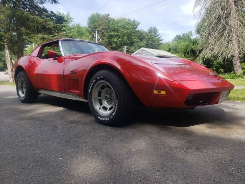 1974 Chevrolet Corvette for sale at A-1 Auto in Pepperell MA