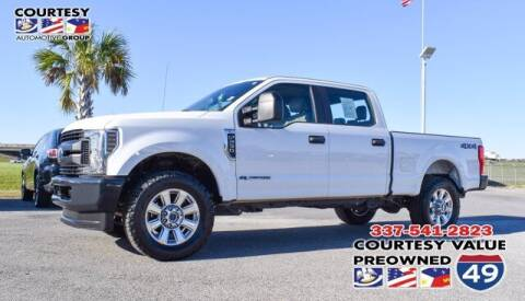 2018 Ford F-250 Super Duty for sale at Courtesy Value Pre-Owned I-49 in Lafayette LA