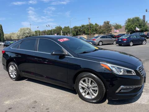 2015 Hyundai Sonata for sale at Blue Diamond Auto Sales in Ceres CA