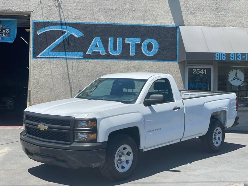 2014 Chevrolet Silverado 1500 for sale at Z Auto in Sacramento CA