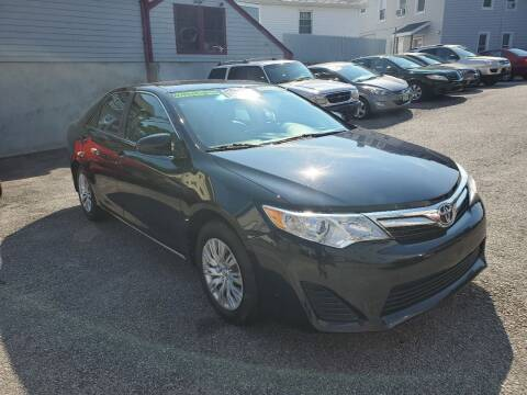 2014 Toyota Camry for sale at Fortier's Auto Sales & Svc in Fall River MA