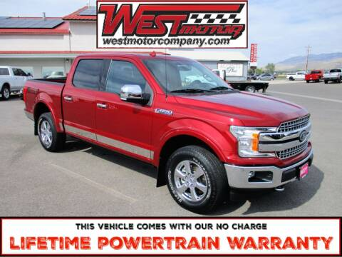 2018 Ford F-150 for sale at West Motor Company in Hyde Park UT