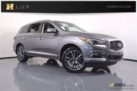 2019 Infiniti QX60 for sale at HGREG LUX EXCLUSIVE MOTORCARS in Pompano Beach FL