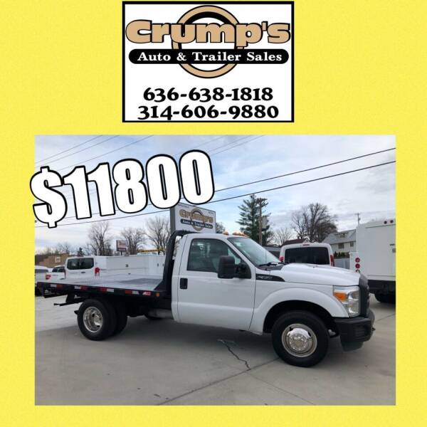 2012 Ford F-350 Super Duty for sale at CRUMP'S AUTO & TRAILER SALES in Crystal City MO