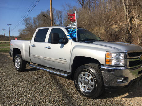 2013 Chevrolet Silverado 2500HD for sale at DONS AUTO CENTER in Caldwell OH