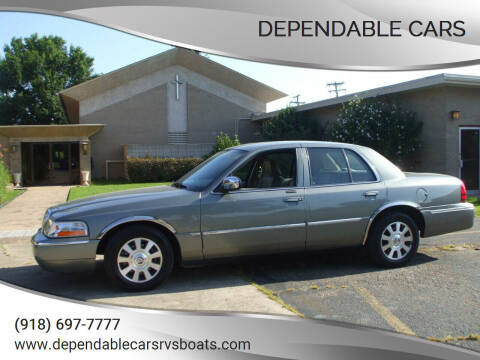 2004 Mercury Grand Marquis for sale at DEPENDABLE CARS in Mannford OK