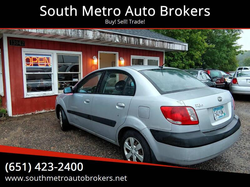 2008 Kia Rio for sale at South Metro Auto Brokers in Rosemount MN