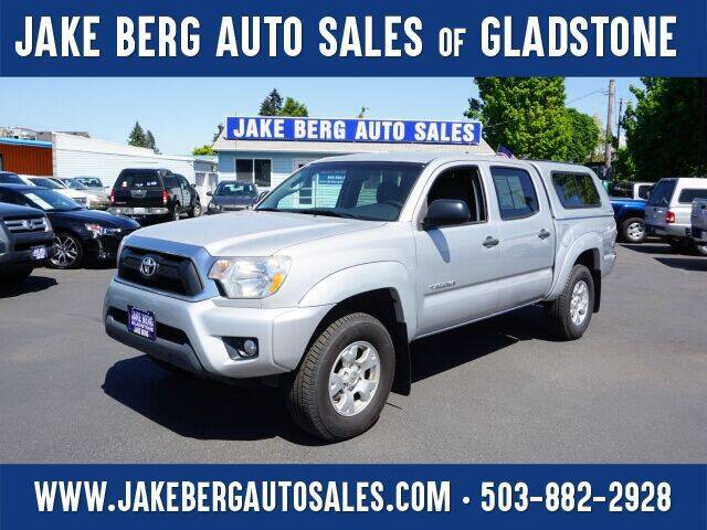 2012 Toyota Tacoma for sale at Jake Berg Auto Sales in Gladstone OR
