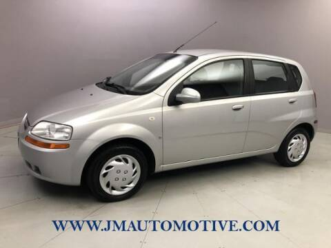 2007 Chevrolet Aveo for sale at J & M Automotive in Naugatuck CT