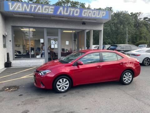 2015 Toyota Corolla for sale at Vantage Auto Group in Brick NJ