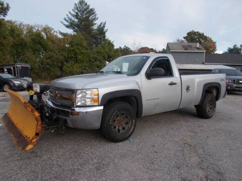 2012 Chevrolet Silverado 1500 for sale at Manchester Motorsports in Goffstown NH