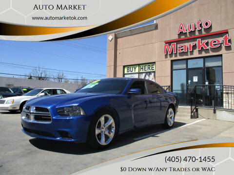 2012 Dodge Charger for sale at Auto Market in Oklahoma City OK