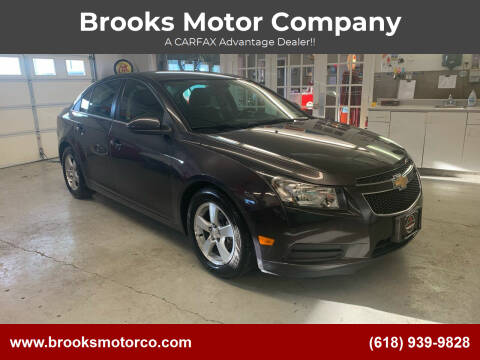 2014 Chevrolet Cruze for sale at Brooks Motor Company in Columbia IL