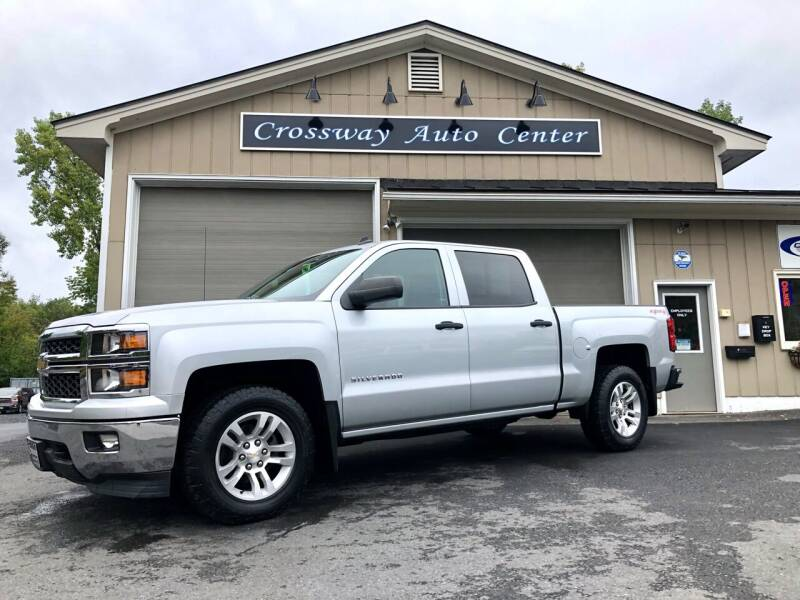 2014 Chevrolet Silverado 1500 for sale at CROSSWAY AUTO CENTER in East Barre VT