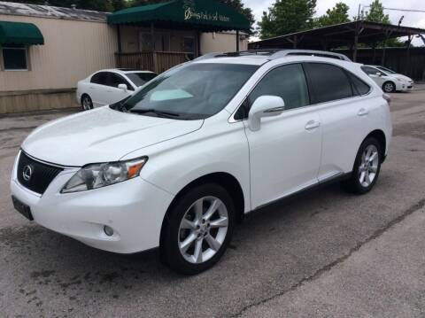 2011 Lexus RX 350 for sale at OASIS PARK & SELL in Spring TX