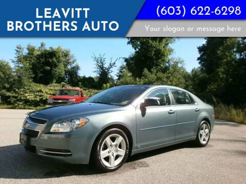 2009 Chevrolet Malibu for sale at Leavitt Brothers Auto in Hooksett NH