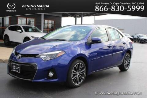 2016 Toyota Corolla for sale at Bening Mazda in Cape Girardeau MO
