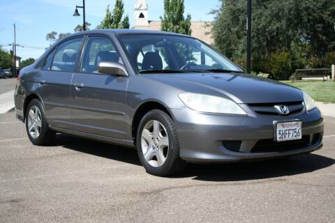 2004 Honda Civic for sale at Cost Less Auto Inc. in Rocklin CA