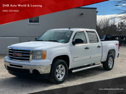 2010 GMC Sierra 1500 for sale at DAB Auto World & Leasing in Wake Forest NC