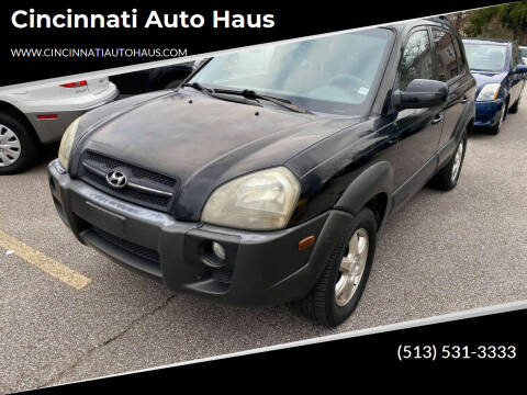 2005 Hyundai Tucson for sale at Cincinnati Auto Haus in Cincinnati OH