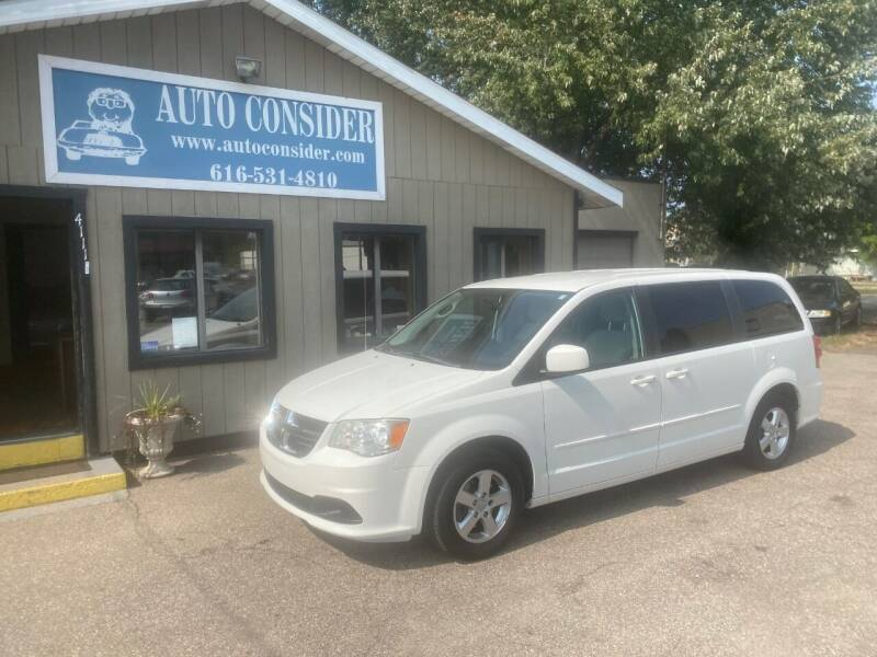 2011 Dodge Grand Caravan for sale at Auto Consider Inc. in Grand Rapids MI
