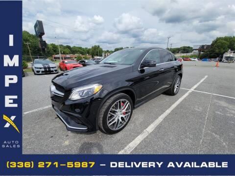 2016 Mercedes-Benz GLE for sale at Impex Auto Sales in Greensboro NC