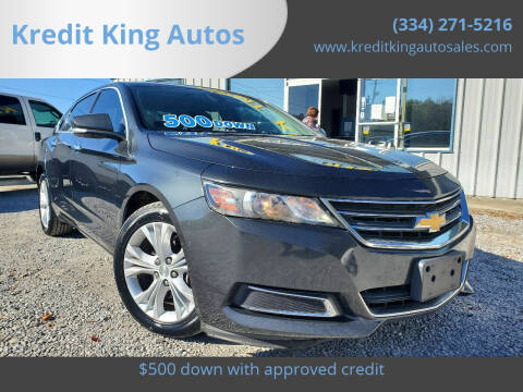 2014 Chevrolet Impala for sale at Kredit King Autos in Montgomery AL