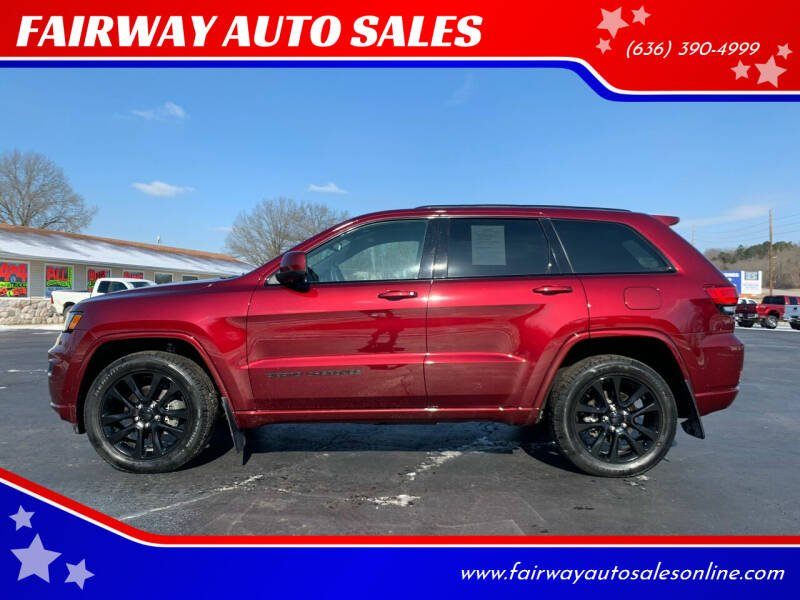 2018 Jeep Grand Cherokee for sale at FAIRWAY AUTO SALES in Washington MO