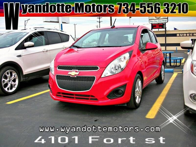2013 Chevrolet Spark for sale at Wyandotte Motors in Wyandotte MI