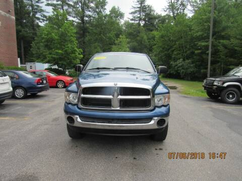 2005 Dodge Ram Pickup 2500 for sale at Heritage Truck and Auto Inc. in Londonderry NH