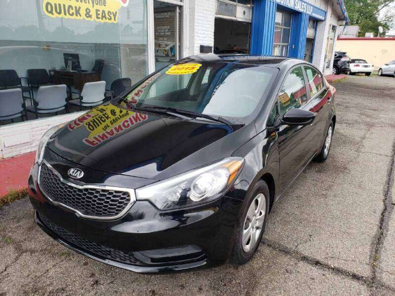 2015 Kia Forte for sale at AutoMotion Sales in Franklin OH