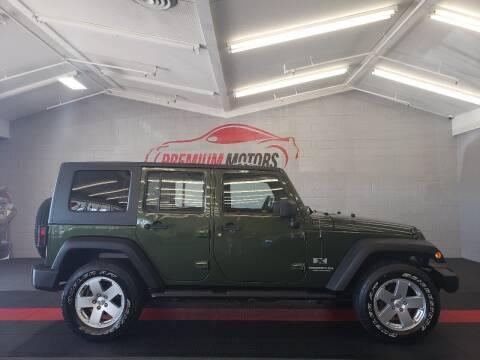 2008 Jeep Wrangler Unlimited for sale at Premium Motors in Villa Park IL