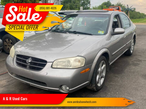 2001 Nissan Maxima for sale at A & R Used Cars in Clayton NJ