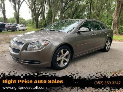2012 Chevrolet Malibu for sale at Right Price Auto Sales-Gainesville in Gainesville FL