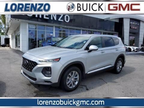 2020 Hyundai Santa Fe for sale at Lorenzo Buick GMC in Miami FL
