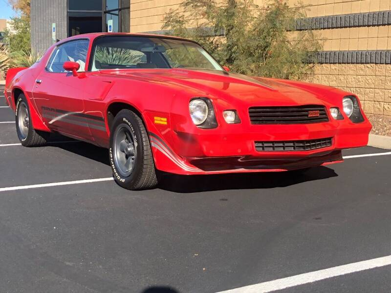 1980 Chevrolet Z28 Camaro for sale at Scottsdale Collector Car Sales in Tempe AZ