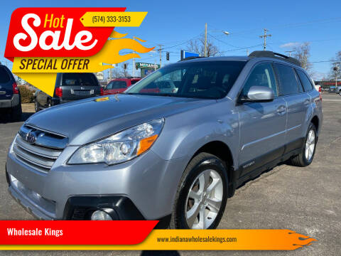2014 Subaru Outback for sale at Wholesale Kings in Elkhart IN