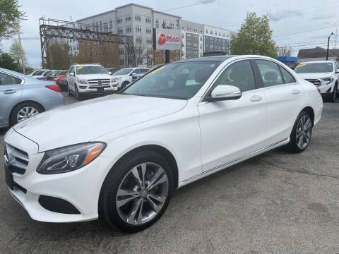 2015 Mercedes-Benz C-Class for sale at Mass Auto Exchange in Framingham MA