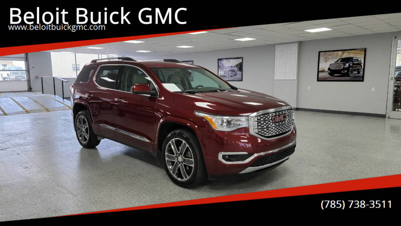 2018 GMC Acadia for sale at Beloit Buick GMC in Beloit KS