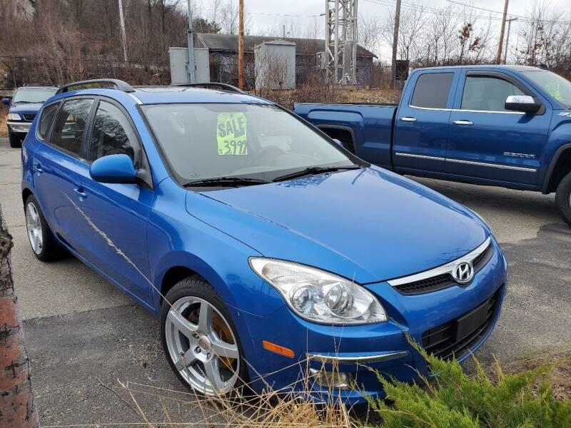2010 Hyundai Elantra Touring for sale at WEB NIK Motors in Fitchburg MA