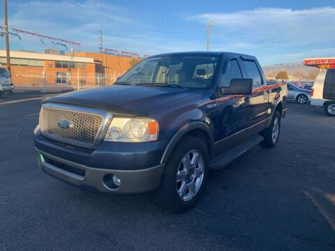 2006 Ford F-150 for sale at Robert B Gibson Auto Sales INC in Albuquerque NM