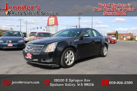 2009 Cadillac CTS for sale at Jennifer's Auto Sales in Spokane Valley WA
