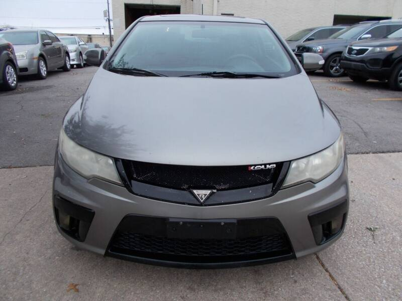 2010 Kia Forte Koup for sale at ACH AutoHaus in Dallas TX