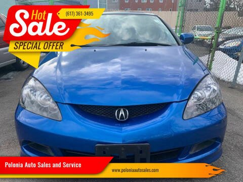 2006 Acura RSX for sale at Polonia Auto Sales and Service in Hyde Park MA