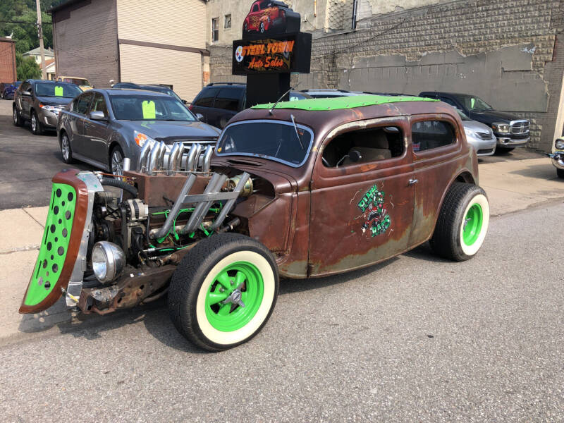 1935 Ford Tudor for sale at STEEL TOWN PRE OWNED AUTO SALES in Weirton WV
