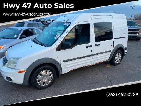 2010 Ford Transit Connect for sale at Hwy 47 Auto Sales in Saint Francis MN