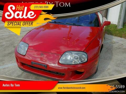1993 Toyota Supra for sale at Autos by Tom in Largo FL
