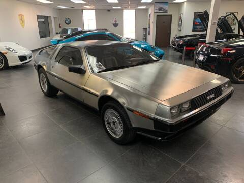 1981 DeLorean DMC-12 for sale at Exotic World Motor Cars in Addison TX