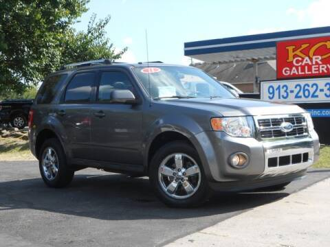 2011 Ford Escape for sale at KC Car Gallery in Kansas City KS